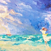 James H. Klippel paints spiritual images of the sea